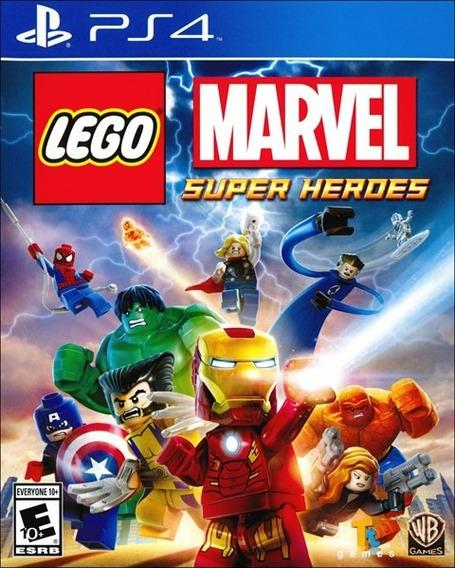 Jogo Game Lego Marvel Super Heroes Ps4 Português Novo