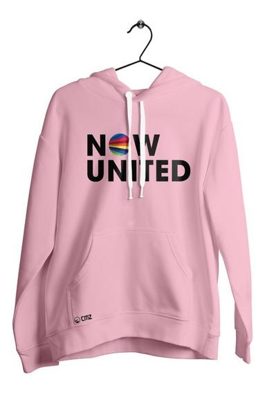 Blusa Feminino Now United Music Lançamento - Moletom Casaco