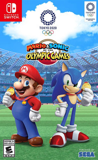Sw Mario & Sonic At The Olympic Games: Tokyo 2020