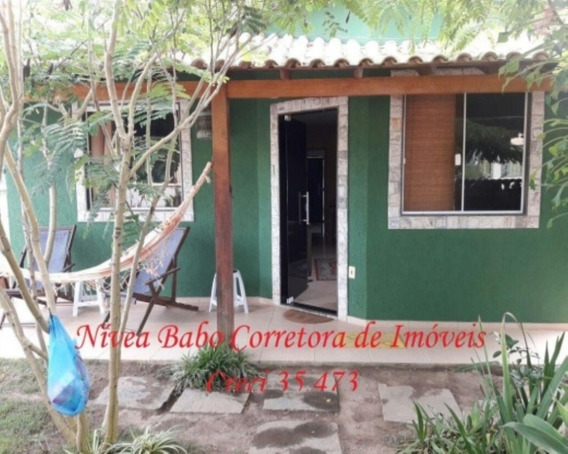 Excelente Casa Em Unamar - Cabo Frio, Muito Próximo Á Praia - Vcap 026 - 32089350