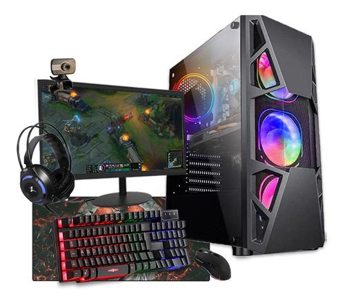 Imagem 1 de 8 de Pc Gamer Completo I5 16gb Gtx 1050 Ssd 480gb Fonte Real 750w