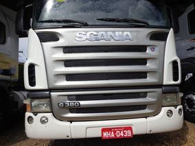 Scania G 380 6x2 , Ano Fab/mod. 2010 , Branca