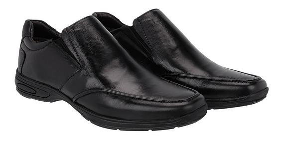 Sapato Social Casual Comfortavel Couro Legitimo Lancamento
