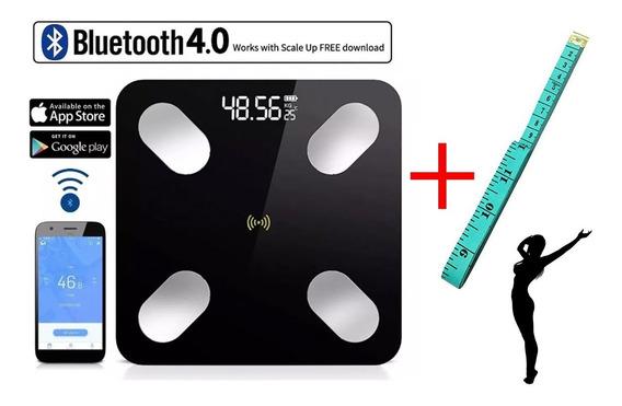 Báscula Digital Inteligente Bluetooth Android Ios + Regalos