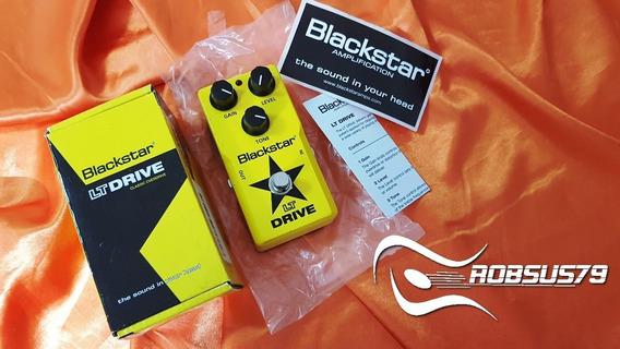 Pedal Overdrive Lt Drive Blackstar Análogo Envio Imediato