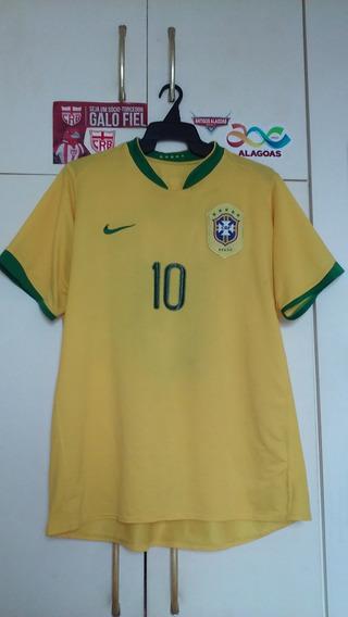 Camisa Seleção Brasil Nike 2006.