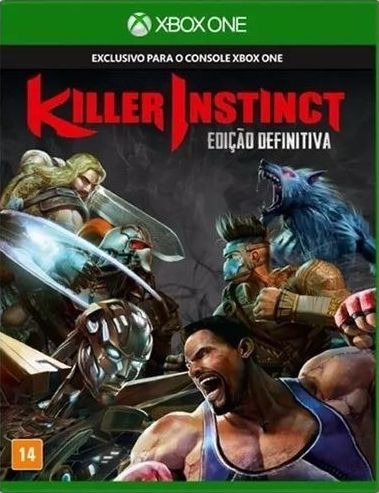 Killer Instinct Definitive Edition Xbox One Mídia Física
