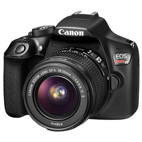 Canon Eos Rebel T6 18mp 3.0 Wi-fi/nfc + Lente Ef-s 18-55mm