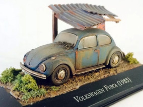 Diorama Vw Fusca 1985 Customizado/envelhecido