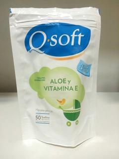 200 Q-soft Toallitas Húmedas Hipoalergénicas