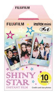 Fujifilm Instax Film Shiny Star | 10 Fotos | Envío Gratis
