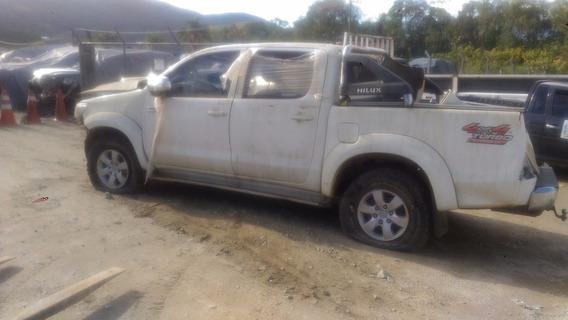 Sucata Toyota Hilux Srv 3.0 2014 2015
