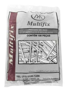 Prego De Aço 12x12 Sem Cabeça Cento - Multifix