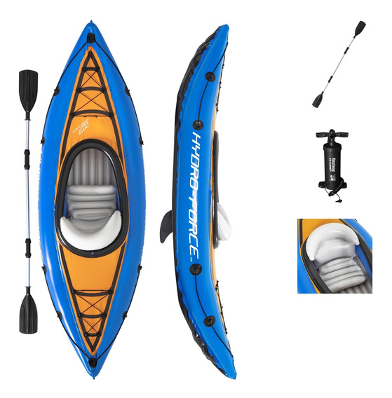 Kayak Inflable Cove 1 Persona Bestway