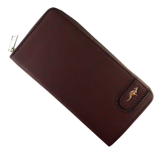 Billetera Larga Cartera Monedero Celular Para Hombre Cangoo