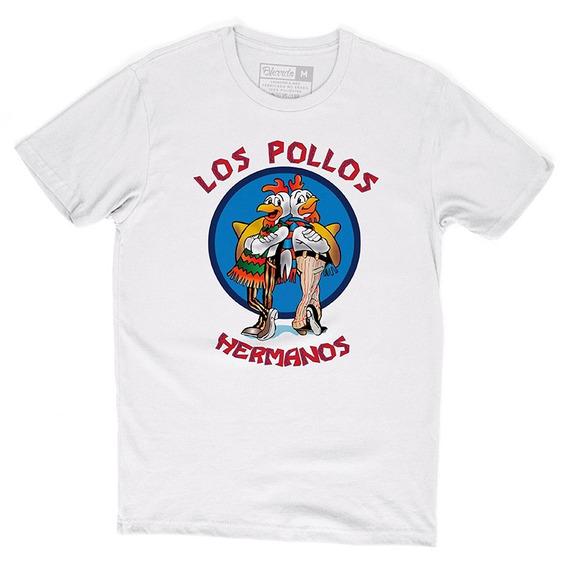 Camiseta Camisa Séries Breaking Bad Los Pollos Hermanos
