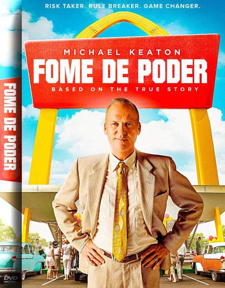 Dvd Fome De Poder 2017 Dublado + Outro Filme Brinde