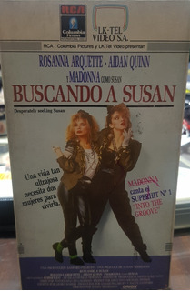 Madonna Vhs Buscando A Susan