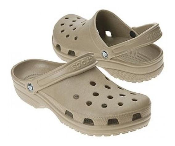Crocs Classic Khaki Promoção