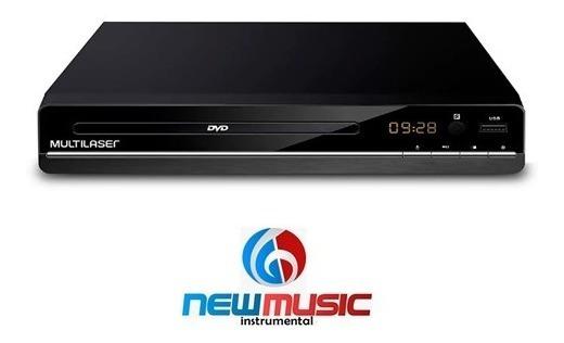 Dvd 3 Em 1 Multimídia Usb Multilaser Preto - Sp252 #279370