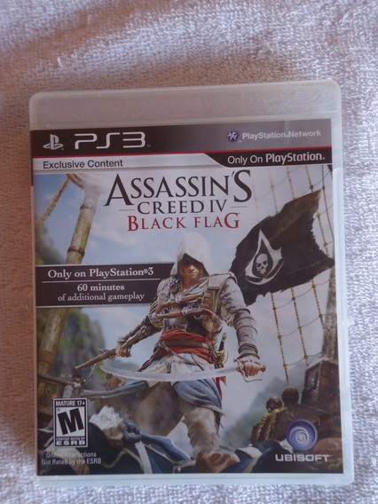 Assassins Creed Iv Black Flag Ps3 ** Frete Gratis Leia
