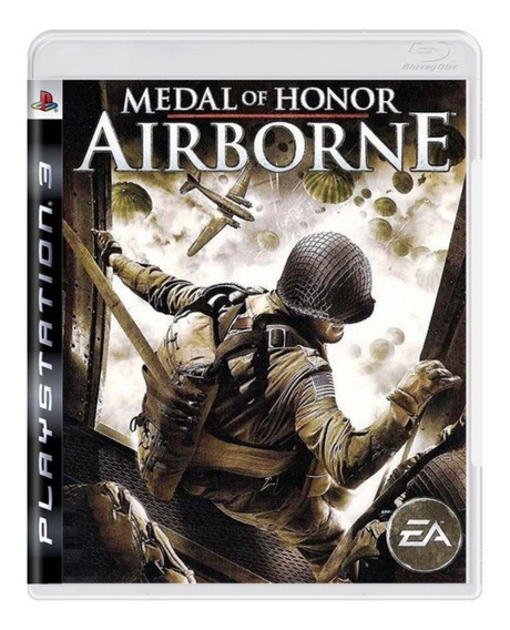 Jogo Midia Fisica Medal Of Honor Airborne Original Para Ps3