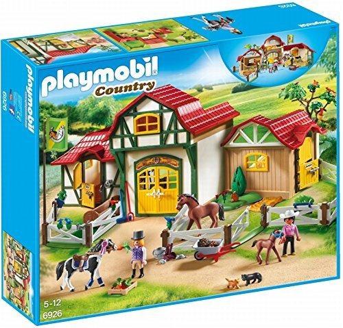 Set De Construccion De Granja De Caballos Playmobil®