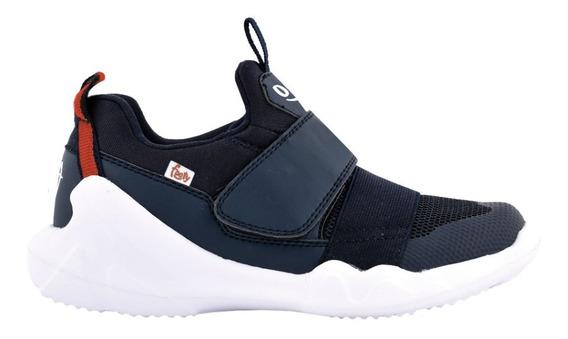 Zapatillas Mini Flexy Negra Ultraliviana - Tienda Footy