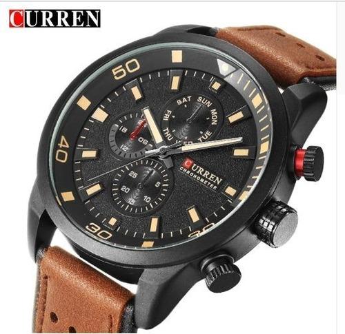 Relógio Curren Masculino Importado Original 8250 Nota Fiscal