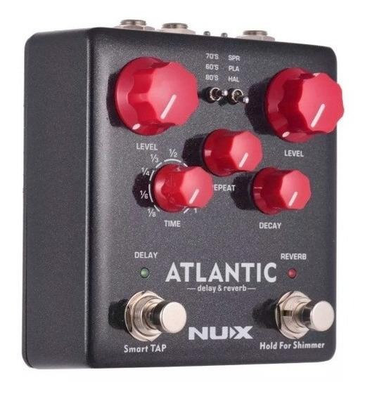 Pedal Nux Atlantic Delay E Reverb - Novo Frete Grátis