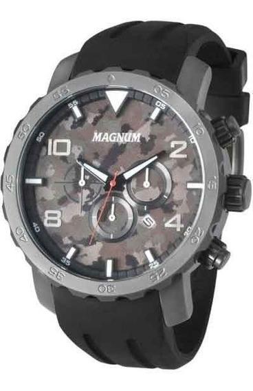 Relógio Magnum Masculino Cronógrafo Ma33817w
