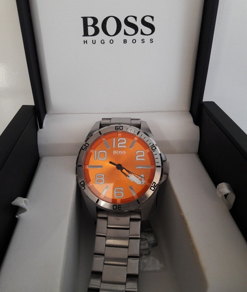 Relógio Hugo Boss Aço 48mm Grande 1512942 Limited