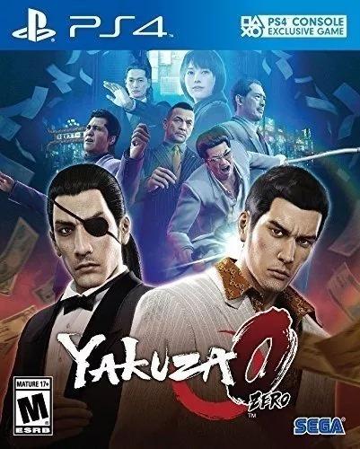 Yakuza 0 Zero Ps4 Mídia Física Lacrado Pronta Entrega