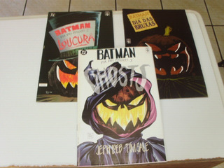 Hq Batman Dia Das Bruxas 1 A 3 Ed Abril 1995 Ms Completa
