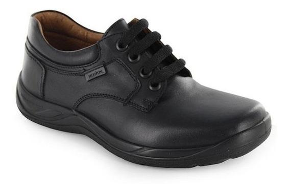 Calzado Zapato Escolar Audaz 163901 Negro