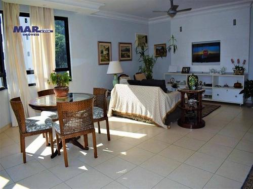Imagem 1 de 16 de Apartamento Residencial À Venda, Barra Funda, Guarujá - . - Ap10122