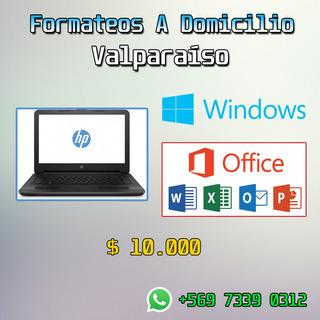 Formateo Y Limpieza De Computadores A Domicilio, Quilpué