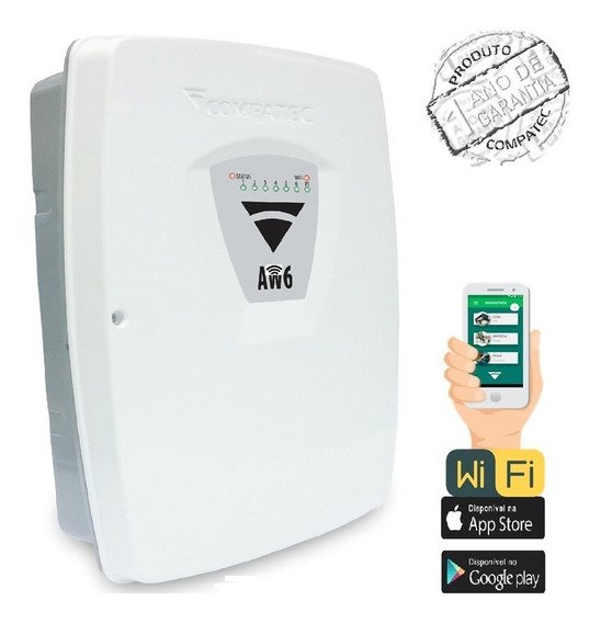 Alarme Aw6 C/wifi - Central De Alarme Wifi - App