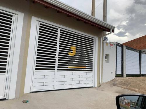 Casa Com 2 Dormitórios À Venda, 71 M² Por R$ 295.000,00 - Jardim Residencial Nova Veneza - Indaiatuba/sp - Ca13766