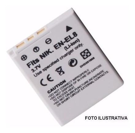 Imagen 1 de 1 de Batería - Enel8  P/nikon   (7883)