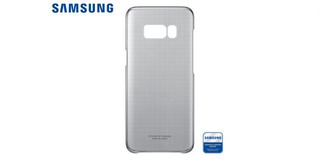Clear Cover S8 Plus Gris