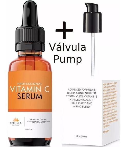 Vitamina C Petúnia - 30 Ml Promoção ! ( Ganhe 1 Pump) Sérum