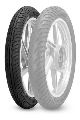 Cubierta 80 100 18 47p Tl Pirelli City dragon