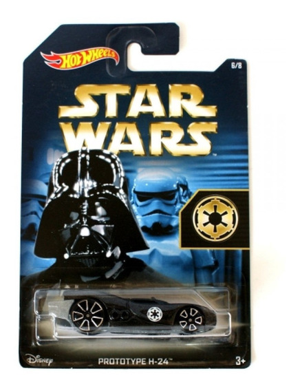 Star Wars Prototype H-24 Darth Vader Hot Wheels Vilao