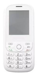 Celular Multilaser 2 Chips Branco E Rosa - P3293