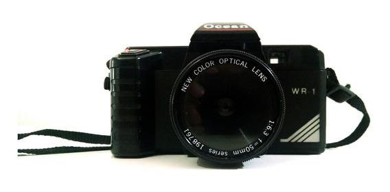 Câmera Fotografica Ocean Wr-1 Retro Vintage Para Decoração