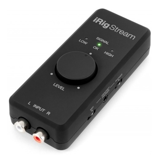 Interface De Audio Ik Multimedia Irig Stream P/ Streaming