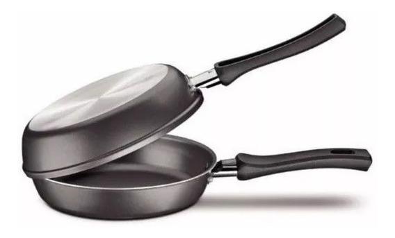 Sarten Doble N° 24 Hudson Antiadherente Teflon Tortilla 24cm