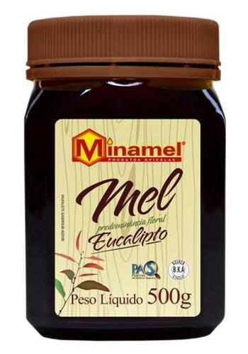 Mel Eucalipto - Minamel - Pote De 500gr
