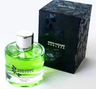 Perfume Nobleza Maria Vazquez 100ml Celof Graines Perfumes